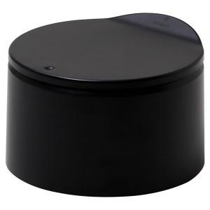 【2500円以上で送料無料】ゴミ箱 ideaco フラット20 キッチン 生ゴミ ダストボックス イデアコ flat20 マットブラック back