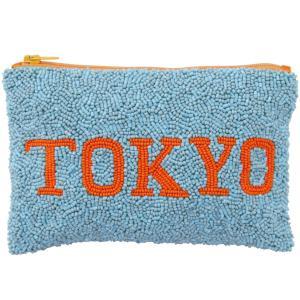 【2500円以上で送料無料】ポーチ amabro ビーズポーチ アマブロ BEADS POUCH 東京 back