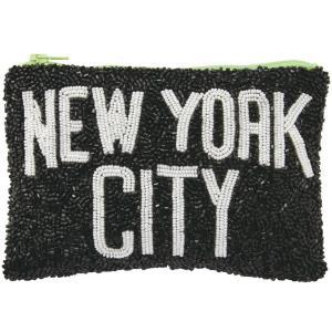 【2500円以上で送料無料】ポーチ amabro ビーズポーチ アマブロ BEADS POUCH ニューヨーク back