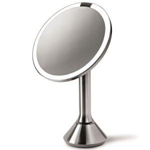 拡大鏡 シンプルヒューマン センサーミラー 5倍拡大鏡 simplehuman BT1080 back