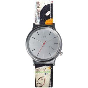 腕時計 KOMONO ウィザード KOMONO BASQUIAT SERIES バスキア ウォッチ コモノ WIZARD PRINT TENOR back