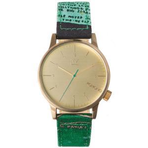 腕時計 KOMONO ウィンストン KOMONO BASQUIAT SERIES バスキア ウォッチ コモノ WINSTON UNTITLED back