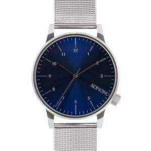 腕時計 KOMONO ウィンストン ロイヤル ウォッチ コモノ WINSTON ROYALE シルバー/ブルー back