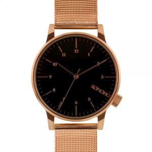 腕時計 KOMONO ウィンストン ロイヤル ウォッチ コモノ WINSTON ROYALE ローズゴールド/ブラック back