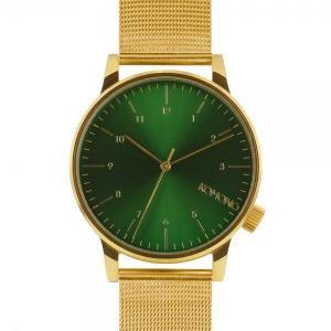 腕時計 KOMONO ウィンストン ロイヤル ウォッチ コモノ WINSTON ROYALE ゴールド/グリーン back
