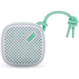 ポータブルスピーカー NudeAudio ムーヴ Sサイズ ブルートゥース ヌードオーディオ Move S Bluetooth グレー/ミント|back