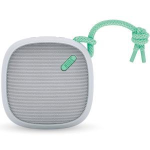 ポータブルスピーカー NudeAudio ムーヴ Mサイズ ブルートゥース ヌードオーディオ Move M Bluetooth グレー/ミント|back