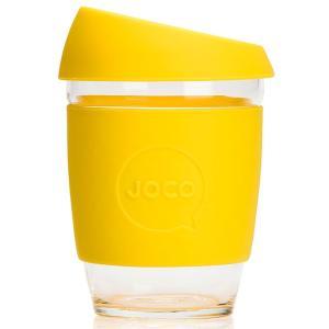 タンブラー JOCO ジョコカップ 360ml 耐熱ガラス ジョコ JOCO Cup 12oz イエロー|back