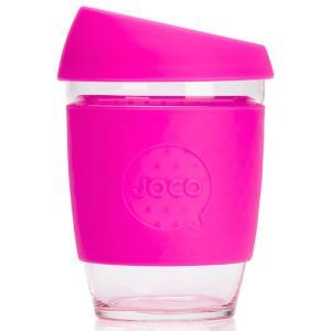 タンブラー JOCO ジョコカップ 360ml 耐熱ガラス ジョコ JOCO Cup 12oz ピンク|back