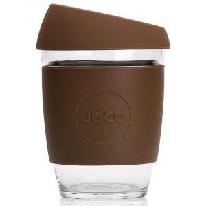 タンブラー JOCO ジョコカップ 360ml 耐熱ガラス ジョコ JOCO Cup 12oz ブラウン|back