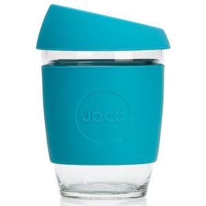 タンブラー JOCO ジョコカップ 360ml 耐熱ガラス ジョコ JOCO Cup 12oz ブルー|back
