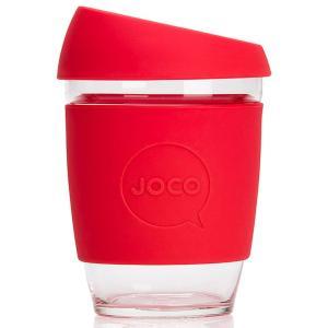 タンブラー JOCO ジョコカップ 360ml 耐熱ガラス ジョコ JOCO Cup 12oz レッド|back