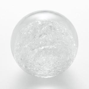 ペーパーウェイト 雪花ガラス 球型 Sサイズ SECCA 1|back