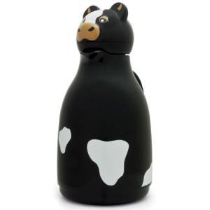 魔法瓶 helios サーモカウ 1000ml ポット 卓上魔法瓶 ヘリオス Thermo Cow ブラック|back