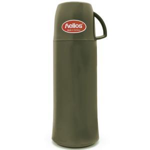 水筒 helios エレガンス 750ml 魔法瓶 ヘリオス Elegance オリーブグリーン|back