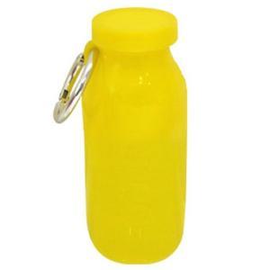 水筒 bubi 450ml ブビ シリコンボトル レモン back
