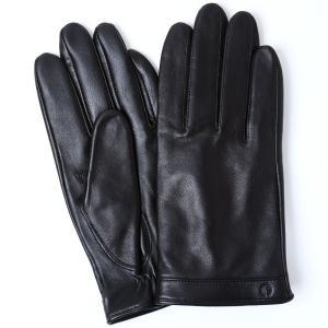 手袋 iTouch Gloves Leather L アイタッチグローブ レザー 本革 Lサイズ メンズ ブラック|back