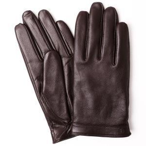 手袋 iTouch Gloves Leather L アイタッチグローブ レザー 本革 Lサイズ メンズ ブラウン|back