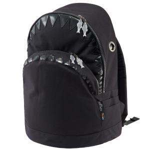 リュック MORN CREATIONS シャーク バックパック LL 限定生産 モーンクリエイションズ サメ LLサイズ ブラック back