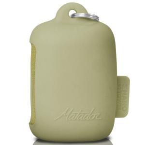 超吸収性タオル Matador ナノドライタオル スポーツタオル 軽量コンパクト 収納ケース付き マタドール Nano Dry Towel SMALL モスイエロー Sサイズ|back