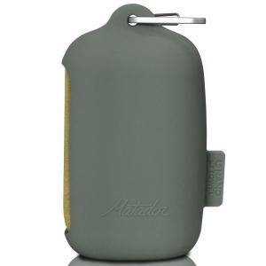 超吸収性タオル Matador ナノドライタオル スポーツタオル 軽量コンパクト 収納ケース付き マタドール Nano Dry Towel LARGE モスイエロー Lサイズ|back