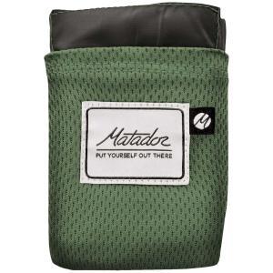 レジャーシート Matador ポケットブランケット バージョン2.0 おしゃれでクールなレジャーアイテム! マタドール Pocket Blanket 2.0 アルパイングリーン|back