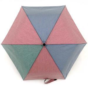 折りたたみ傘 +RING coco Mサイズ 54cm レディース メンズ おしゃれ プラスリング 折傘 男女兼用 T572 ブルー レッド|back