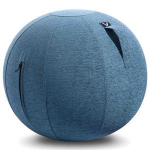 シーティングボール Vivora ルーノ シェニール おしゃれ!お部屋に置きたいインテリア性! ヴィボラ LUNO CHENILLE ブルー|back