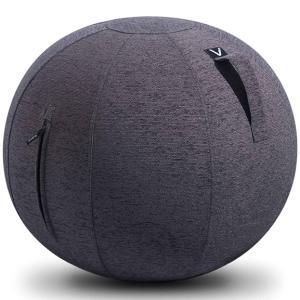 シーティングボール Vivora ルーノ シェニール おしゃれ!お部屋に置きたいインテリア性! ヴィボラ LUNO CHENILLE チャコールグレー|back