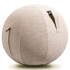 シーティングボール Vivora ルーノ シェニール おしゃれ!お部屋に置きたいインテリア性! ヴィボラ LUNO CHENILLE ベージュ|back