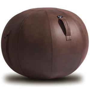 シーティングボール Vivora ルーノ レザーレット 合皮 おしゃれ!お部屋に置きたいインテリア性! ヴィボラ LUNO LEATHERETTE ブラウン|back