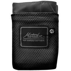 レジャーシート Matador ポケットブランケット バージョン2.0 おしゃれでクールなレジャーアイテム! マタドール Pocket Blanket 2.0 ブラック|back