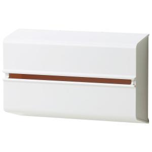 ペーパータオルケース ideaco ウォールPT 壁掛けペーパータオルケース キッチンペーパー対応収納ケース イデアコ WALL PT ホワイト|back