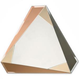 ミラー アマブロ COLOR MIRROR 壁掛け 鏡 amabro カラーミラー トライアングル back