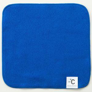 冷感タオル 100パーセント −℃ MinusDegree スポーツタオル 100% マイナスディグリー クールブルー back