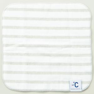 冷感タオル 100パーセント −℃ MinusDegree Soft スポーツタオル 100% マイナスディグリー ソフト グレー back