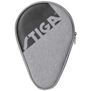 卓球ラケットケース STIGA フルラケットケース エッジ 卓球用品 スティガ BATCOVER EDGE グレー|back