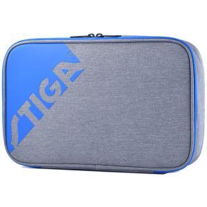 卓球ラケットケース STIGA ラケットケース エッジ JP 卓球用品 スティガ BATWALLET EDGE JP ブルー|back