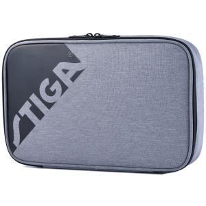 卓球ラケットケース STIGA ラケットケース エッジ JP 卓球用品 スティガ BATWALLET EDGE JP ブラック|back