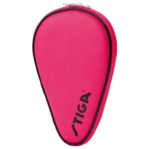 卓球ラケットケース STIGA クラシックフルラケットケース 日本限定バージョン 卓球用品 スティガ BATCOVER CLASSIC ピンク|back