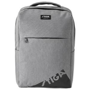 スポーツバッグ STIGA リュックサック エッジ フィットネスバッグ スティガ BACKPACK EDGE グレー|back