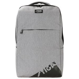 スポーツバッグ STIGA リュックサック エッジ XLサイズ フィットネスバッグ スティガ BACKPACK EDGE XL グレー|back