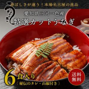 丑の日 お中元 うなぎ 蒲焼き MC-6 国産 カット ひつまぶし ウナギ 鰻 6食入り(1食 約5...