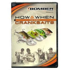 【送料無料】【DVD】BOMBER/ボーマー HOW&WHEN TO FISH CRANK BAITS|backlash