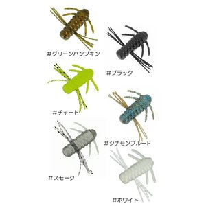 バークレイ アオキムシ 青木虫 1.5inch Feco対応 Berkley AOKIMUSHI backlash 02