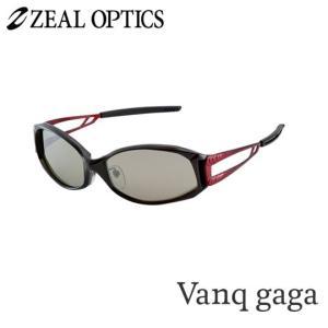 zeal optics(ジールオプティクス) 偏光グラス ヴァンクガガ F-1069 #トルゥービュースポーツ シルバーミラー ZEAL Vanq gaga  backlash