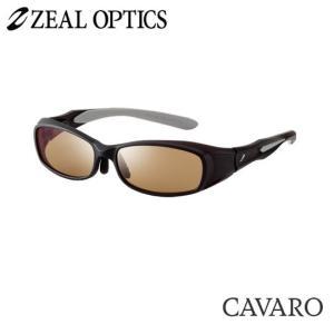 zeal optics(ジールオプティクス) 偏光グラス カヴァロ F-1207 #ラスターオレンジ/シルバーミラー ZEAL cavaro |backlash