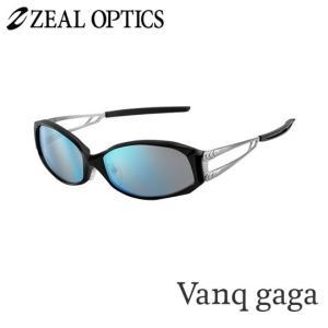 zeal optics(ジールオプティクス) 偏光グラス ヴァンクガガ F-1074 #トゥルビュースポーツ ブルーミラー ZEAL Vanq gaga backlash
