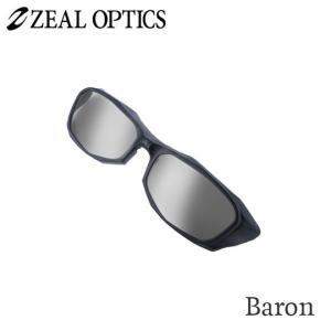 zeal optics(ジールオプティクス) 偏光グラス ジャケット バロン専用前掛け F-1642 #トゥルービューフォーカス/シルバーミラー ZEAL Jacket  backlash