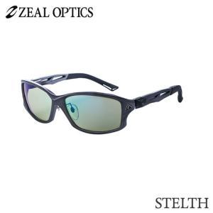 zeal optics(ジールオプティクス) 偏光グラス ステルス F-1391 #イーズグリーン ブルーミラー ZEAL STELTH |backlash